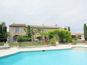 Mas, piscine, 12 pers  –Réf460A Cavaillon