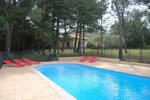 Villa, piscine, 10 pers – Réf.433A  Chateauneuf de Gadagne