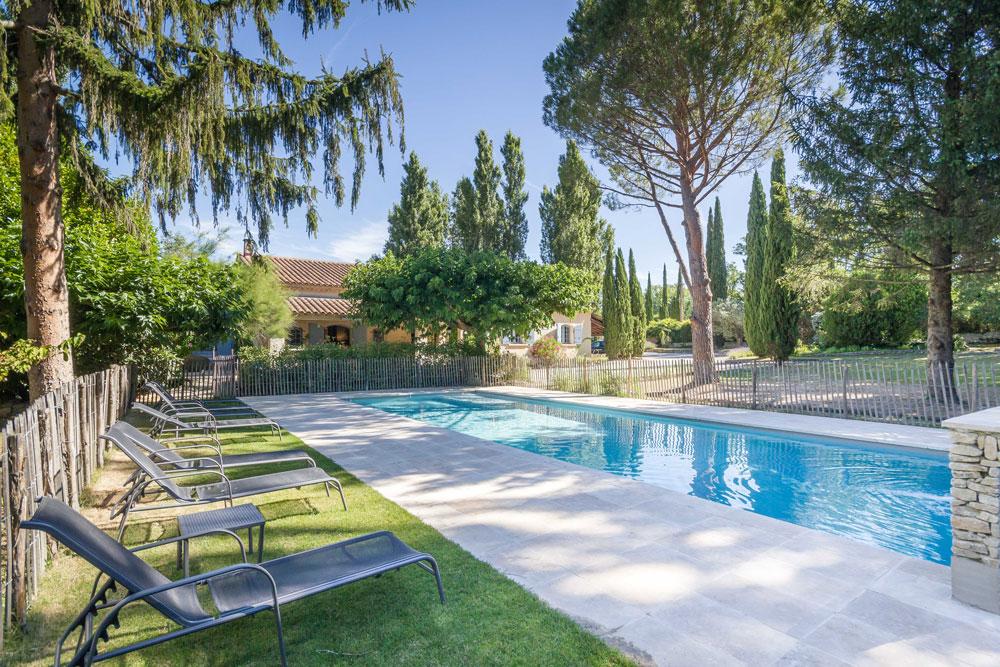 Villa, piscine chauffée 15 pers – Réf 450A Lagnes
